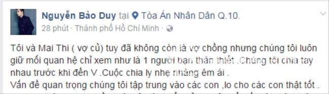 Hậu ly hôn, Phi Thanh Vân chi mạnh mua quà cho con, Bảo Duy lên tiếng về tình mới