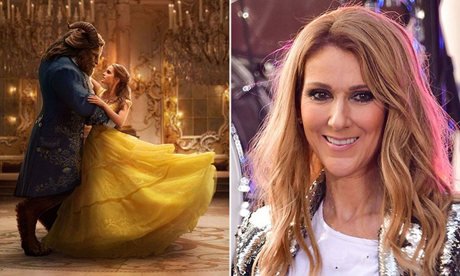 Céline Dion khoe giọng diva trong phim Beauty and the Beast