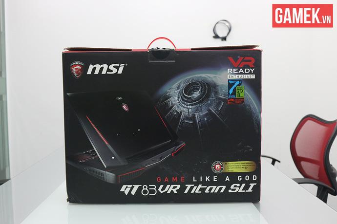 Có bàn phím cơ, 2 card 1080, giá 107 triệu, đây chắc chắn là laptop khủng nhất Việt Nam!