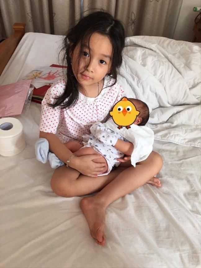 Lộ ảnh công chúa thứ hai của Lưu Hương Giang
