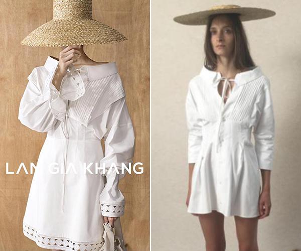 NTK Lâm Gia Khang nghĩ gì khi trang phục mình bị nhái