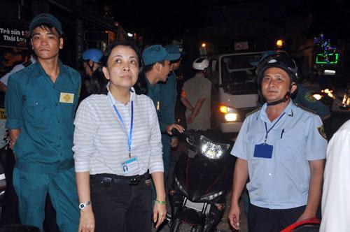 TP.HCM: Vỉa hè khác lạ sau khi bà nữ chủ tịch phường đi qua