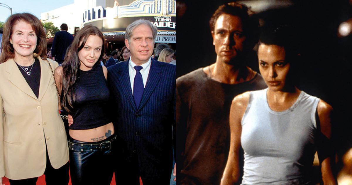 Angelina Jolie từng xét nghiệm ma túy để được nhận vai Lara Croft