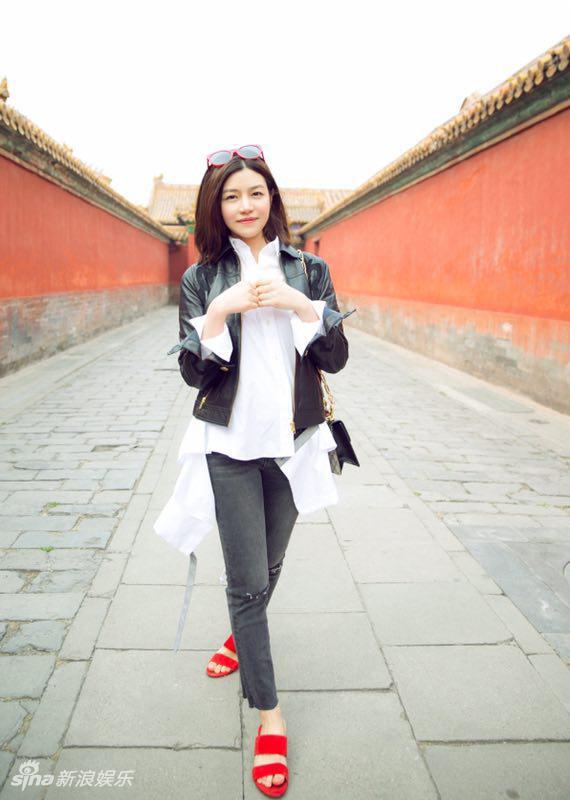 Cảnh Điềm diện street style ấn tượng nhất dàn sao Hoa - Hàn tuần qua - Hình 6
