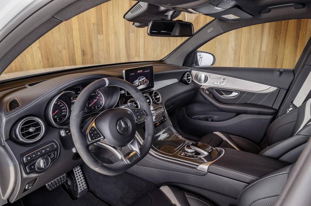 Mercedes GLC 63 AMG 2018 công suất từ 476 mã lực - Hình 8
