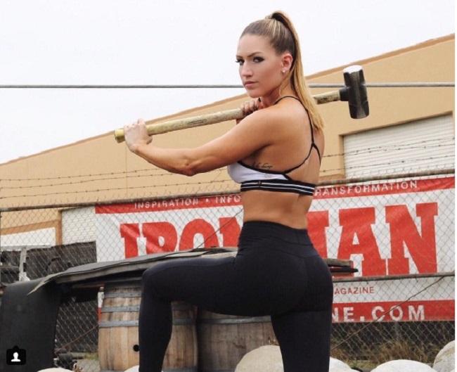 Đã mắt ngắm nữ thần phòng gym hấp dẫn nhất thế giới