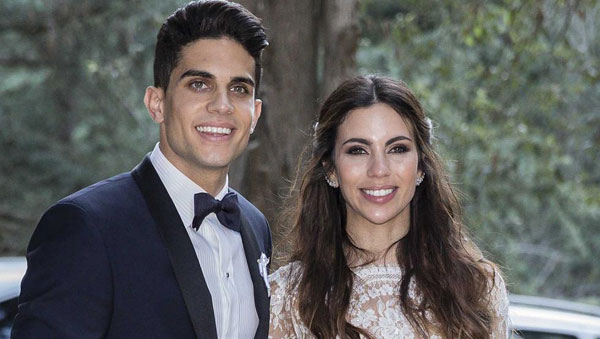 Các cựu sao Barca hội ngộ trong hôn lễ Marc Bartra - Hình 5