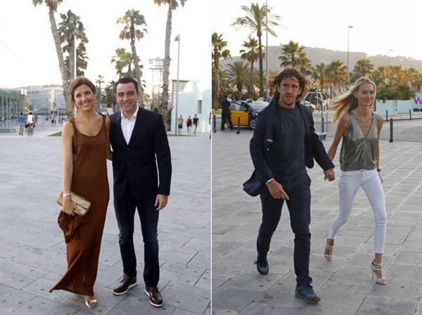 Các cựu sao Barca hội ngộ trong hôn lễ Marc Bartra - Hình 9