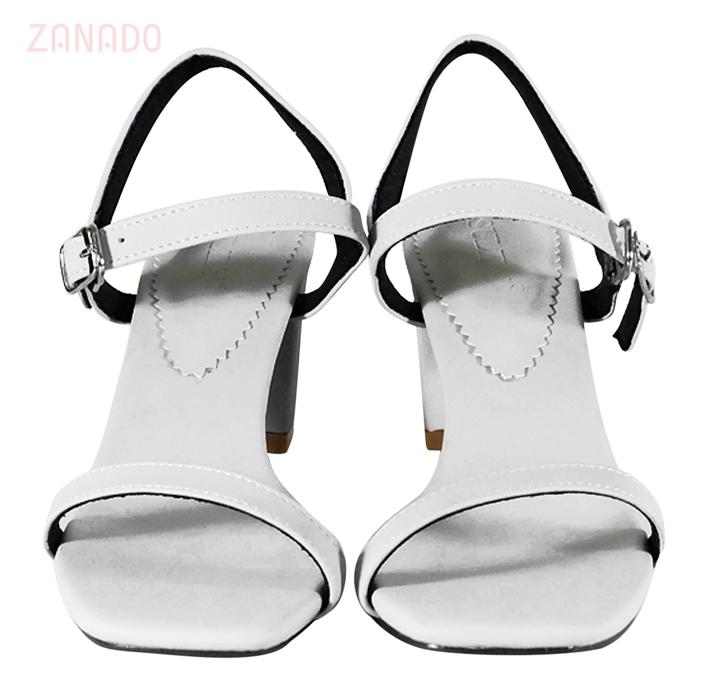 Giày sandal gót vuông SULILY SGV01-IV16 SID62882 - Hình 5