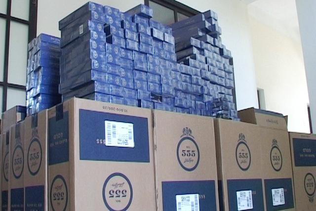 Bắt giữ 20.000 bao thuốc lá ngoại nhập lậu vào Việt Nam - Hình 2