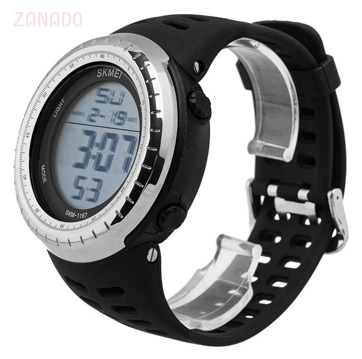 Đồng hồ điện tử thể thao nam Skmei Digital dạ quang SID63582 - Hình 2