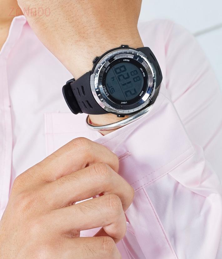 Đồng hồ điện tử thể thao nam Skmei Digital dạ quang SID63582 - Hình 7
