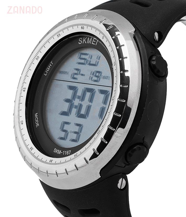 Đồng hồ điện tử thể thao nam Skmei Digital dạ quang SID63582 - Hình 5