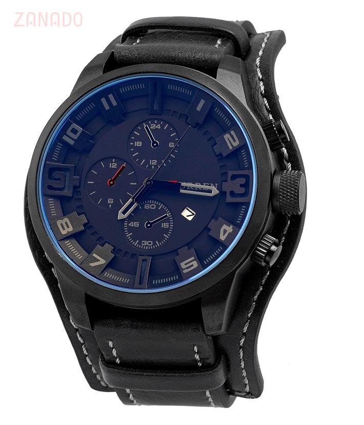 Đồng hồ nam dây da Curen CR-03 SID63577 - Hình 2