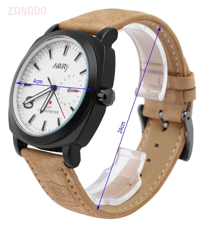 Đồng hồ nam NARY 8 fashion cá tính SID63576 - Hình 6