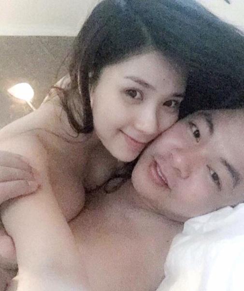 Rò rỉ ảnh trong tư thế nhạy cảm trên giường của Thanh Bi và Quang Lê? - Hình 1