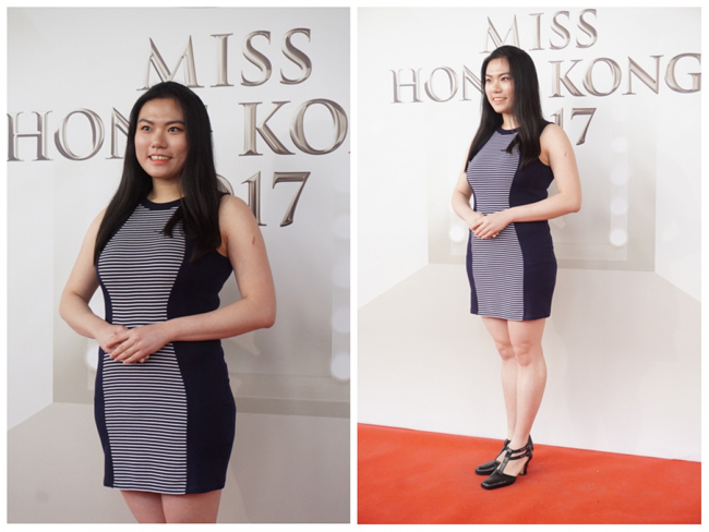 Thí sinh Hoa hậu Hong Kong 2017 vừa xấu, vừa lộ vai thô, chân to - Hình 5