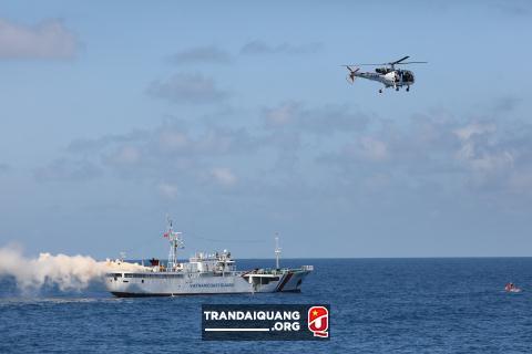 Việt Nam dùng tàu CSB Nhật Bản viện trợ diễn tập chung - Hình 1