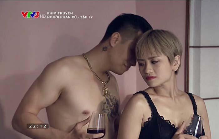 Bồ mới Phan Hải phim Người phán xử nóng bỏng ăn đứt Vân Điệp - Hình 2