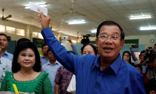 Campuchia công bố kết quả bầu cử xã phường - Hình 1