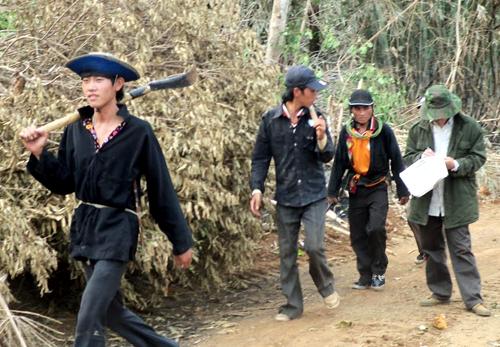 Cảnh sát truy lùng kẻ giết người trong rừng - Hình 1