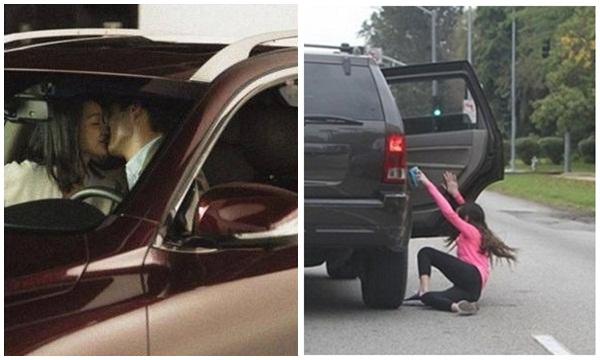 Đang quấn lấy bồ trên xe thì có người gõ cửa - Hình 1