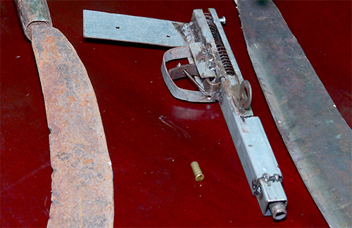 Nhóm thanh niên nổ súng đòi nợ bị cảnh sát khống chế