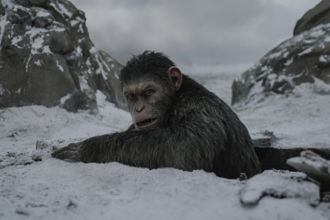 'Đại chiến hành tinh khỉ' truất ngôi 'Người Nhện' tại Bắc Mỹ