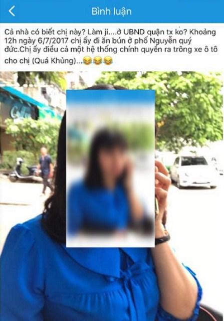 Phó Chủ tịch quận Thanh Xuân: Nhiều người lạ nhắn tin lăng mạ tôi