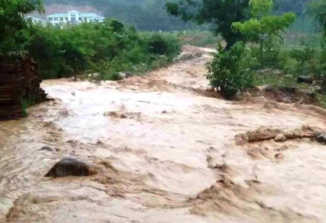 Quốc lộ chục triệu đô nứt dài sau mưa bão