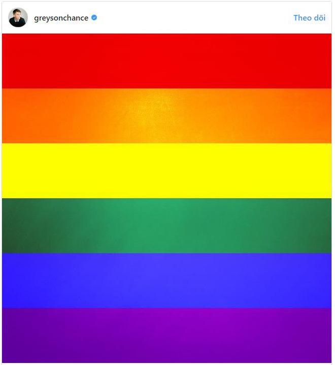 Thần đồng âm nhạc nhí một thời Greyson Chance công khai là người đồng tính