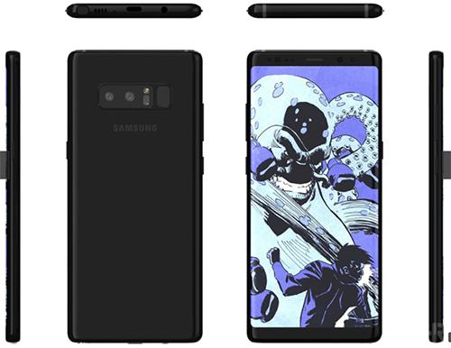 Galaxy Note 8 sẽ có camera zoom quang gấp rưỡi iPhone 7 Plus