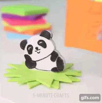 Tận dụng vải dạ màu làm ngay thú cưng gắn giấy note để bàn dễ thương
