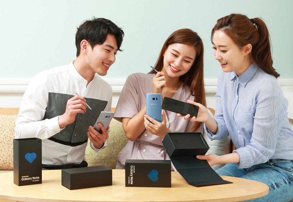 Galaxy Note FE chính thức ra mắt, giá 610 USD