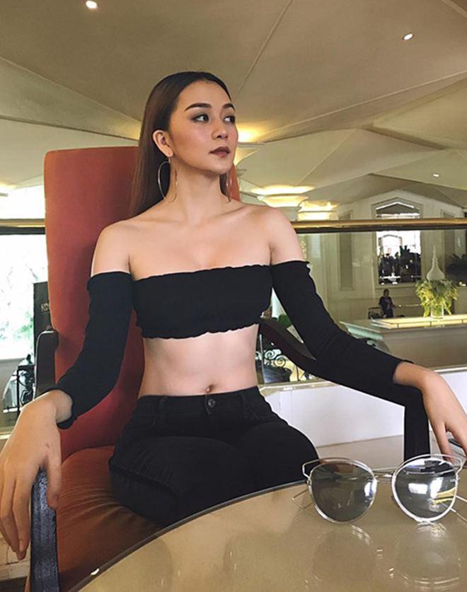 Sau Hoàng Thùy Linh đến lượt chị vợ Sơn Tùng MTP diện áo 5cm