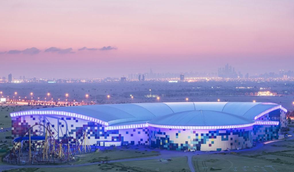 Bên trong công viên giải trí trong nhà 1 tỷ USD của Dubai