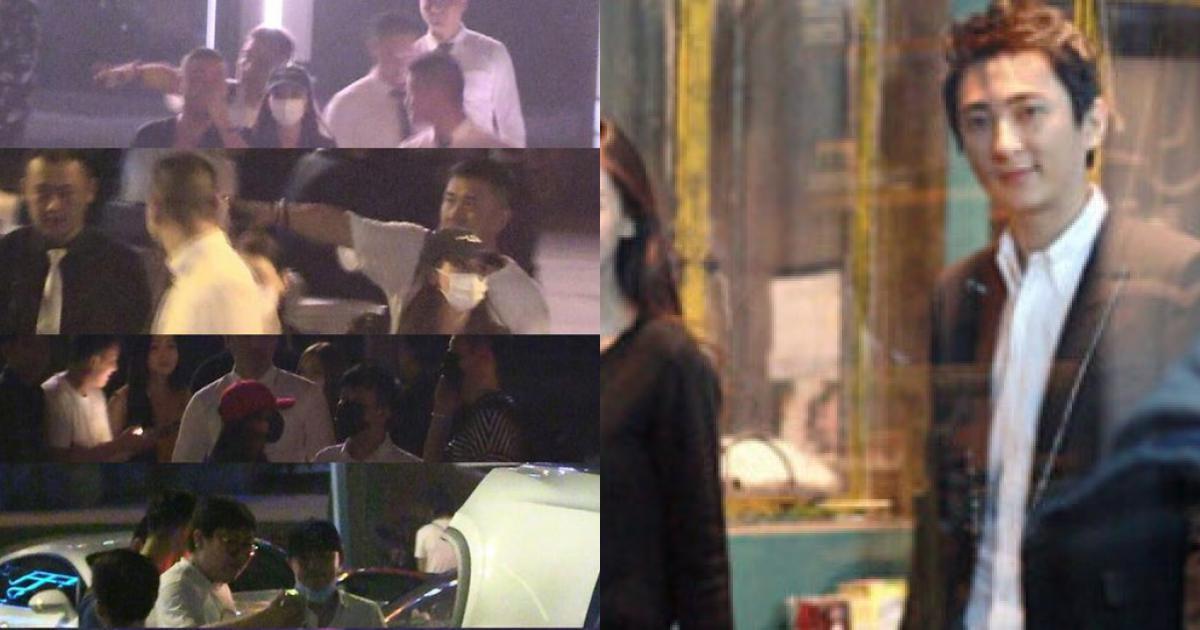 Angelababy dự tiệc tối với thiếu gia tỷ phú hàng đầu Trung Quốc