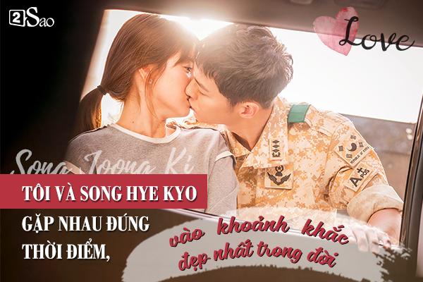 Đâu chỉ có Huỳnh Hiểu Minh là soái ca,Song Joong Ki ngọt ngào và ướt át gấp ngàn lần hơn