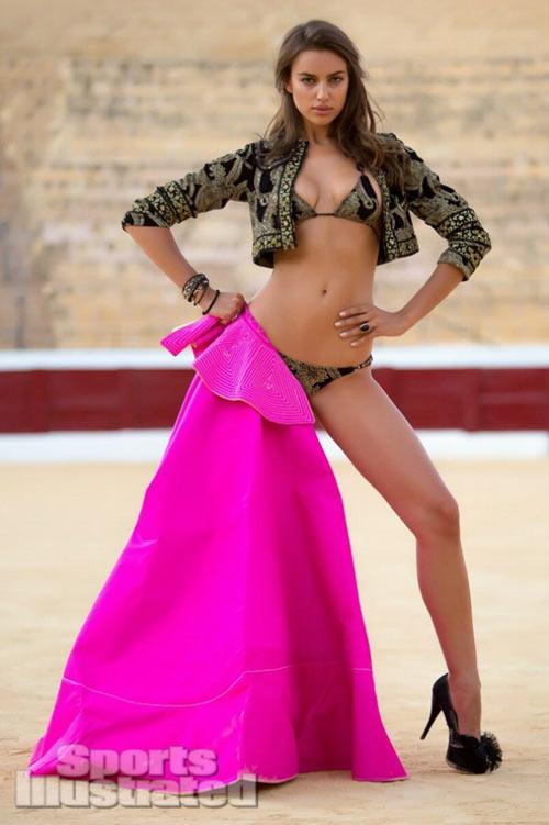 Gái xinh Irina Shayk vẻ đẹp quyến rũ không giới hạn