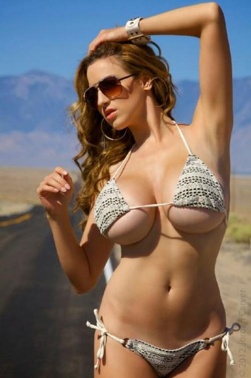 Girl xinh siêu khủng Jordan Carver bikini - Hình 37
