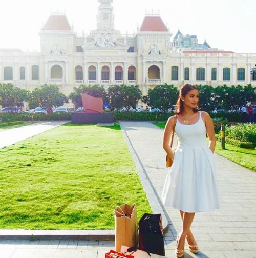 Những chuyến du lịch trong mơ của đại mỹ nhân Phillippines