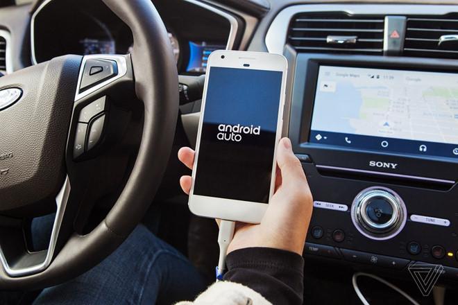 Sắp đến thời đại của ôtô Android