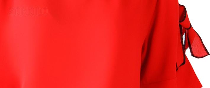 Áo kiểu nữ tay loe phối nơ tay SID64743