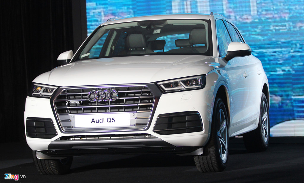 Audi Q5 thế hệ mới ra mắt ở Việt Nam với giá từ 2 tỷ đồng