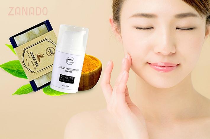 Bộ sản phẩm trị mụn cơ bản MH Natural Skincare CBPO003 SID64849