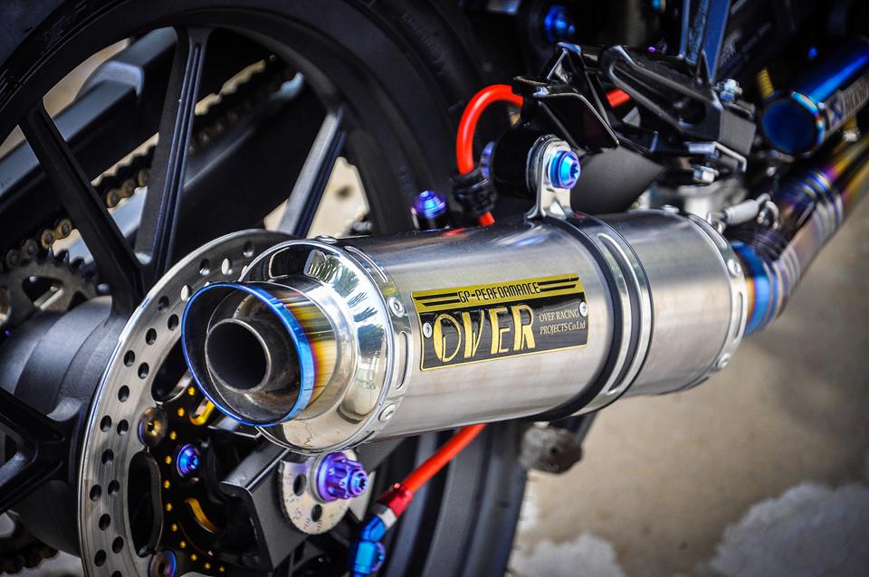 Exciter 135 độ phong cách HP4 của fan BMW ở Cần Thơ