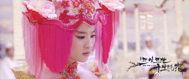 Hình ảnh Lưu Diệc Phi xinh đẹp trong Tam sinh tam thế bị cắt bỏ