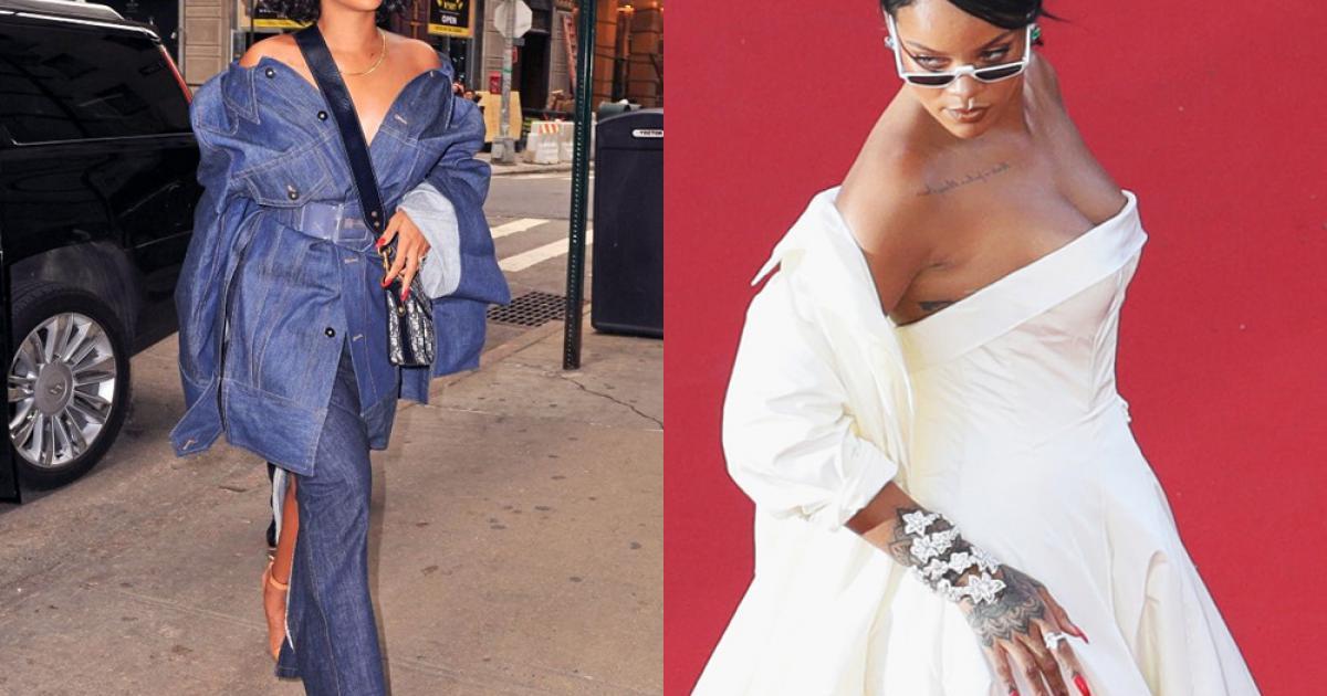 """Những bộ cánh """"nhìn hết muốn ăn thịt mỡ"""" của Rihanna!"""