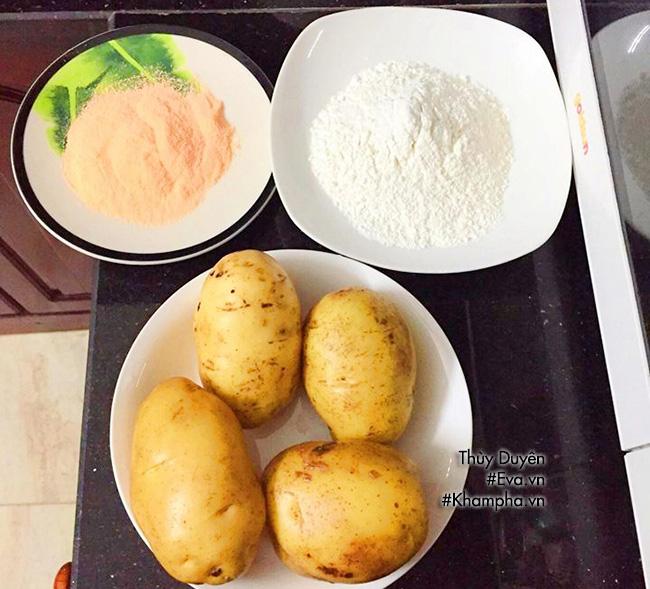 [Chế biến] - Đãi con khoai tây lắc phô-mai thơm lừng, giòn tan