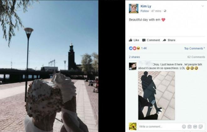 Hồ Ngọc Hà - Kim Lý đang hẹn hò tại Thụy Điển?
